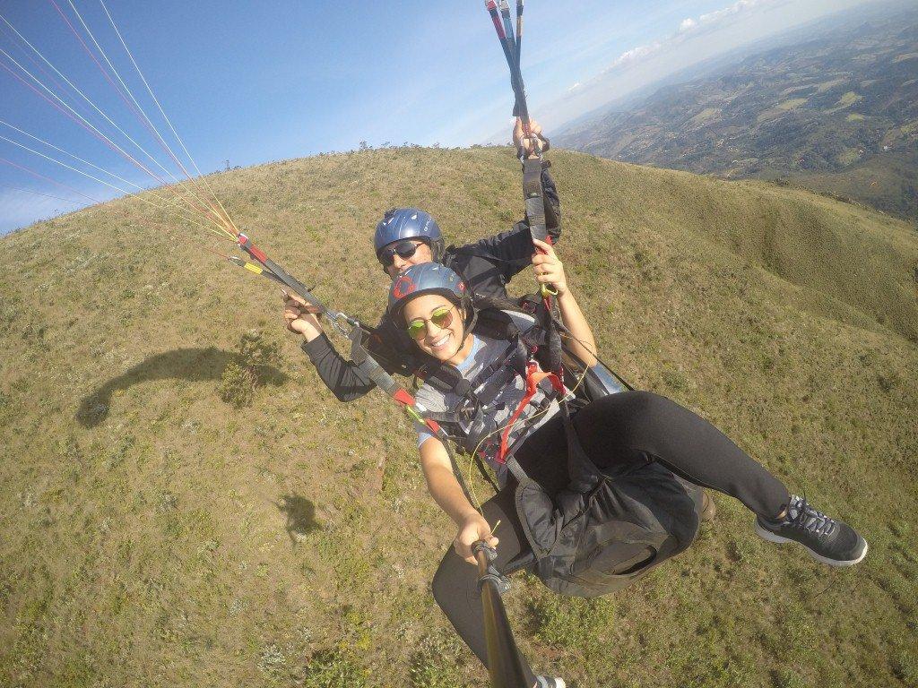Voo de Paraglider em BH
