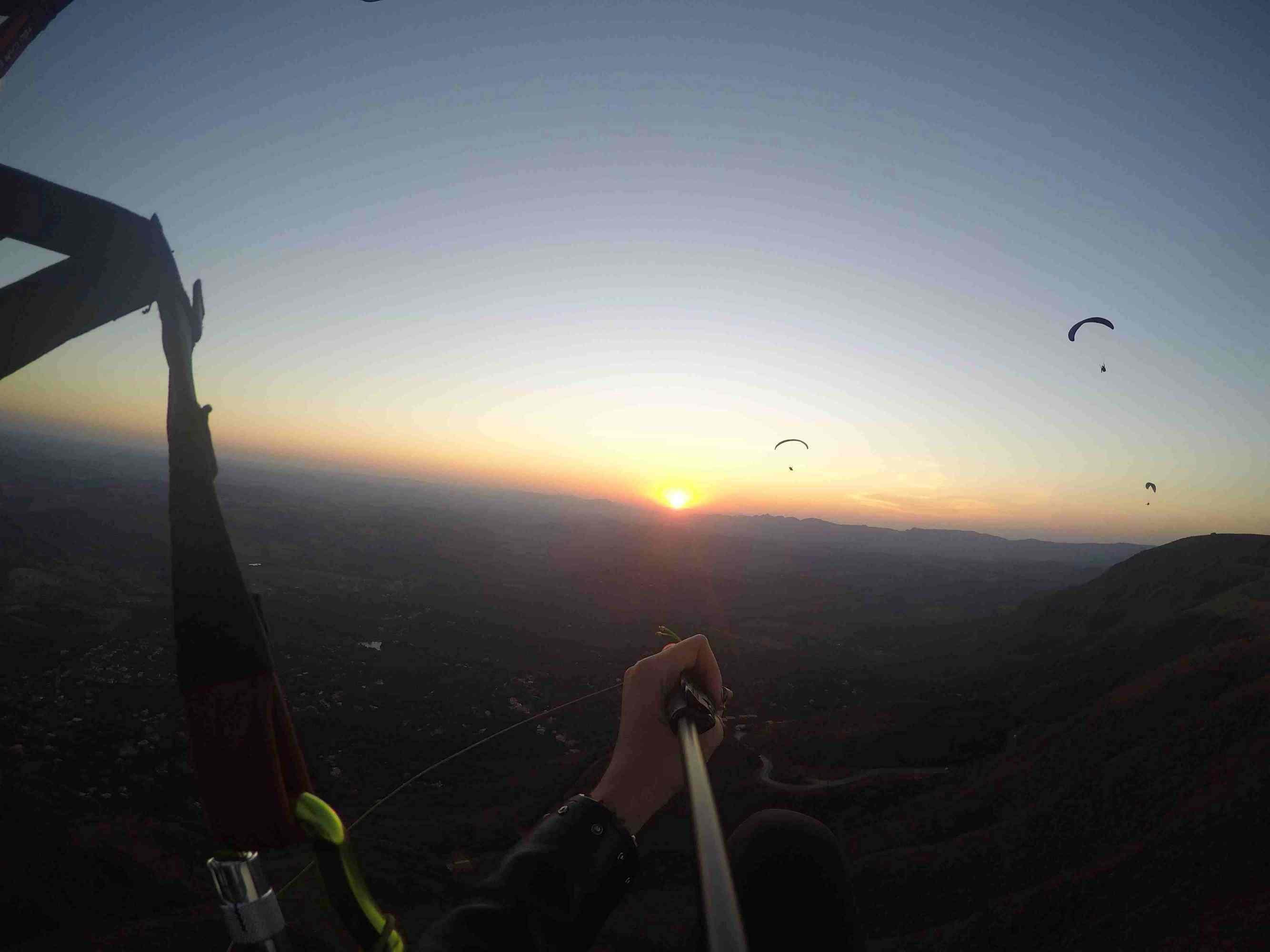 Pular de paraglider