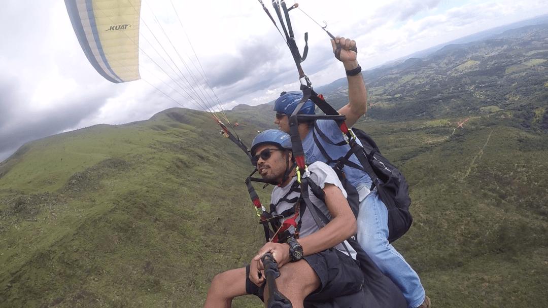 Paraglider Serra da Moeda